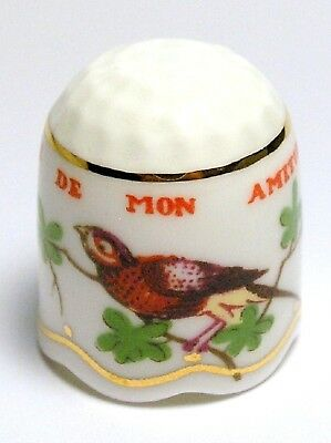 Fingerhut Thimble von Chelsea Porcelain - The Victoria and Albert Museum