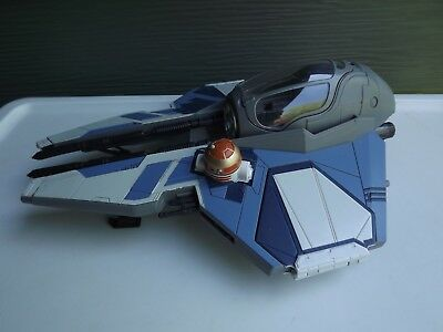 2004 Hasbro Star Wars Revenge of the Sith Obi Wan Jedi Starfighter