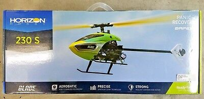 BLADE 230 S Collective-Pitch Aerobatic RTF RC Helicopter Drone BLH1500 - NEW!