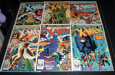 Lot Of 6 ~ The Uncanny X-Men  #144, 145, 146, 147, 148, 149 - Marvel Comics