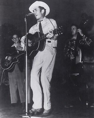 HANK  WILLIAMS-  COUNTRY western SINGER/recording artist MAIL ORDER fan  PHOTO