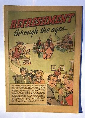 Pictorial Media Inc. Series 1951 Refreshment through the Ages Coca-Cola Giveaway