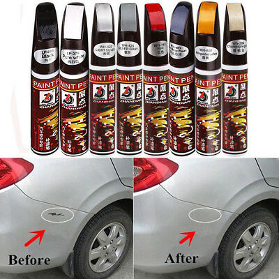 Black Fix Pro Auto Smart Coat Paint Scratch Repair Touch Up Pen For Black Car
