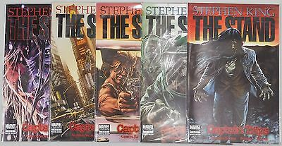 The Stand Captain Trips #1 to #5 comic set Stephen King Marvel Comics