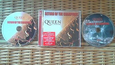 Queen + Paul Rodgers (Free/Bad Company)-Return of the Champions (LIVE) 2 x CD