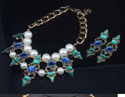 Restore ancient ways jewelry crystal decoration short great pearl necklace 1pcs