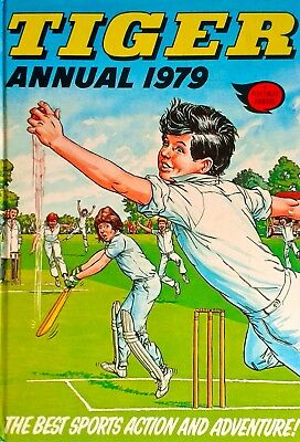 TIGER Annual 1979 - JOHNNY COUGAR - ROY OF THE ROVERS - BRITISH Comics
