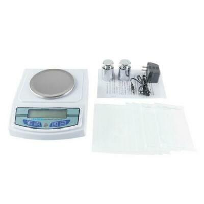 LEADZM Analytical Balance 3000G x 0.01G 3 kg 66lbs Lab Precision Scale U.S