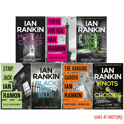 A Rebus Novel Series By Ian Rankin Collection 10 Books Set The Hanging Garden
