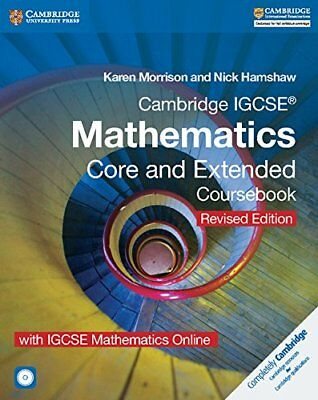 Cambridge IGCSE® Mathematics Core and Extended Coursebook with CD-ROM and IGCSE