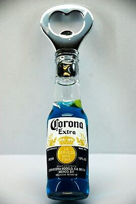 CORONA Extra mexican BEER BOTTLE OPENER fridge magnet blue AAZ03