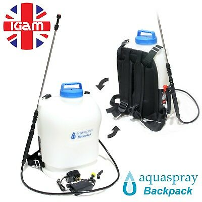 Aquaspray Backpack Agricultural Electric Sprayer 16L 12volt rechargeable battery