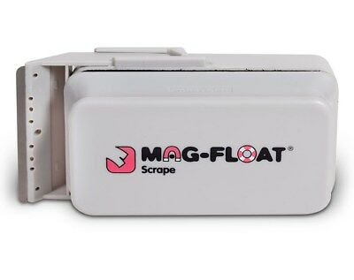 Mag-Float 400 Large + Glass Aquarium Magnetic Algae Cleaner + Scraper Magfloat