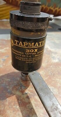 Tapmatic 30X Reversing tapping head, tapping attachment