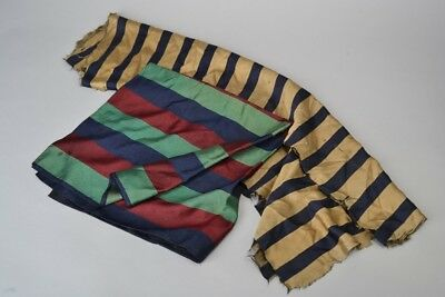 Edwardian Collegiate, Club, Regimental Silk Squares. Ref FXJ