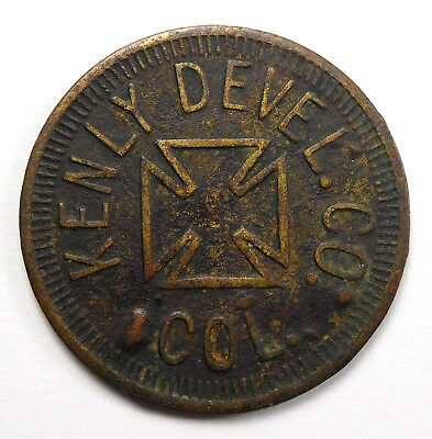 Baltimore, Maryland - Kenly Devel. Co. COL. 5¢ Trade Token
