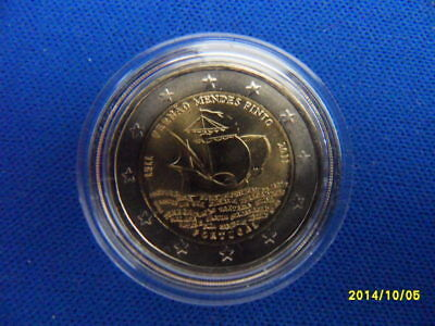 "Portugal 2011 - 2 Euro ""500. GT von Fernao Mendes Pinto"", StGl"