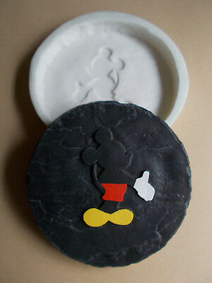 Mickey Mouse Garden Stepping Stone Cement Mold SILICONE RUBBER MOLD
