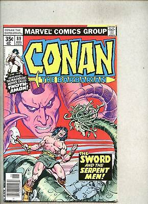 Conan The Barbarian #89-1978 fn+ John Buscema