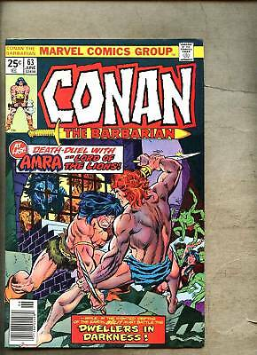 Conan The Barbarian #63-1976 fn+ John Buscema