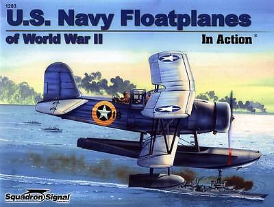 2ss1203a/ Squadron Signal - Aircraft in Action No 203 - US Navy Floatplanes