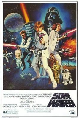 STAR WARS - CLASSIC MOVIE POSTERS - New Hope - Version A  NEW - 24x36 INCHES