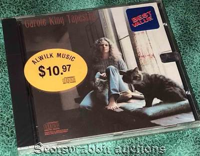 CAROLE KING TAPESTRY CD Factory Sealed 1986 12 Songs Ode Records