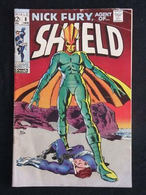 Nick Fury, agent of SHIELD #8 MARVEL 1969 - Stan Lee, silver age comic books!!!