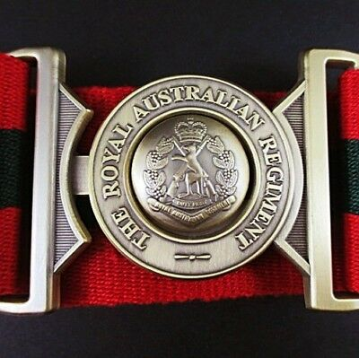 Rar Royal Australian Regiment Stable Belt Infantry - Brand New -  X Large