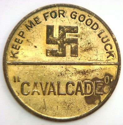"Swastika - ""Cavalcade"" Keep me for Good Luck, Clive Brook, Paramount Player"