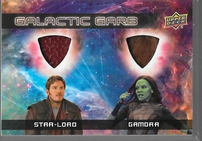 UD Guardians of the Galaxy Vol 2 Galactic Garb Dual Star-Lord Gamora DM-1