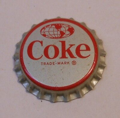 "Vintage Coca Cola ""World""..cork..unused..SODA BOTTLE CAP.."