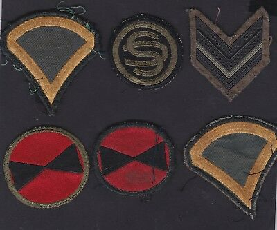 USA, Vietnam war period cloth patchs