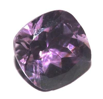 6.70 cts Natural Earth Mined Amethyst 12 x 12 mm Gemstone #eam1784