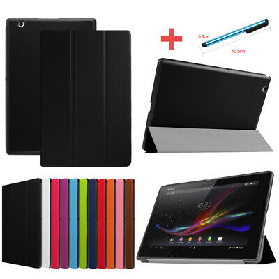 "For Sony Xperia Z2 Z3 Z4 Tablet 8"" 10.1"" Slim Smart PU Leather Stand Cover Case"