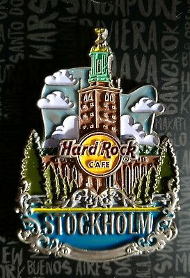 Hard Rock Cafe Stockholm Core City Icon Pin