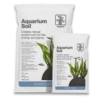 Tropica Aquarium Soil for Planted Tanks Plants Growth Active Health 3L / 9L
