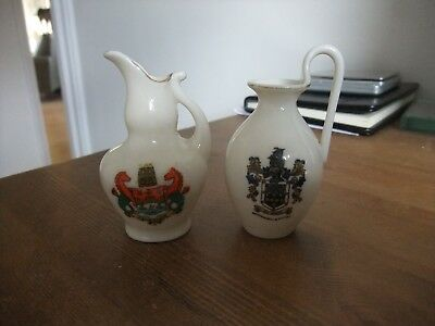Lovely Pieces Of Crested China By W H Goss/Alexandra Wandsworth & Cambridge