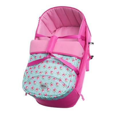 Obaby Zeal Soft Carrycot 2018 (Cottage Rose)
