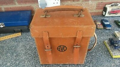 Vintage Avometer 8 Mk5 In Leather Case ( Free Postage )