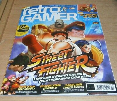 Retro Gamer magazine #181 2018 Street Fighter, PS2 Treasures, Simpsons hit NES &