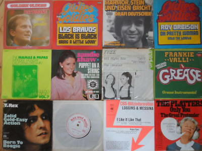 120 Singles-T.Rex, Wings, Dr.Hook, Los Bravos, Roy Orbison, Donna Summer, Styx..