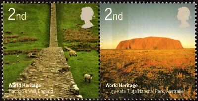 GREAT BRITAIN - 2005 - World Heritage - MNH Se-Tenant -  Joint Issue - #2280-81
