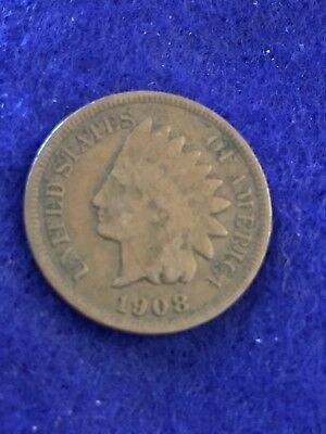 1908 Indian Head Cent  See Pictures  Easy Shipping # 1210
