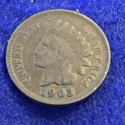 1903 Indian Head Cent  See Pictures  Easy Shipping # 1212