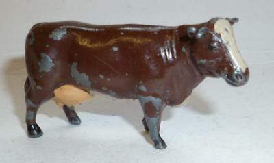 Meccano Dinky Toys Hornby Series Vintage Lead Farm Cow