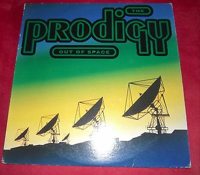 "12"" The Prodigy Out Of Space (US Pressung) Breakbeat Hardcore Classic 1992"
