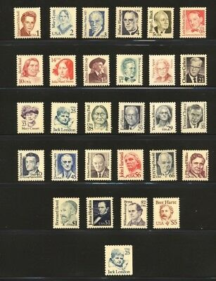 US Scott 2168-97 Great Americans  complete set 29 stamps Mint NH GORGEOUS
