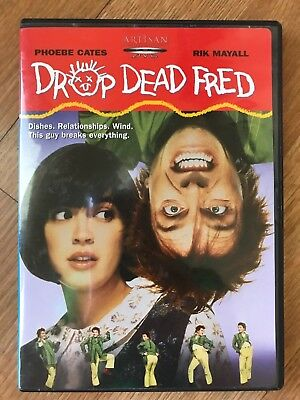 DROP DEAD FRED DVD 1991 Reg 1 USA Phoebe Cates Rik Mayall OOP Movie Comedy 2003
