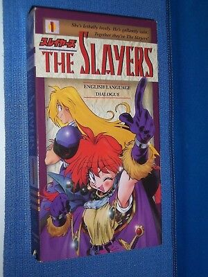The Slayers Volumes 1 / 2 / 3 / 4 / 5 / 6 / 7 VHS videos dubbed subtitled anime